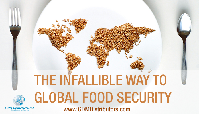 THE INFALLIBLE WAY TO GLOBAL FOOD SECURITY